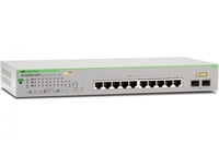 Коммутатор Allied Telesis AT-GS950/10PS-50 8x100Mb 2G 10PoE+ 75W настраиваемый