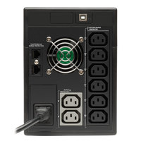 Источник бесперебойного питания Tripplite SmartPro SMX1500LCDT 900Вт 1500ВА черный