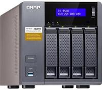 Сетевое хранилище NAS Qnap Original TS-453DU-4G 4-bay стоечный Celeron J4125