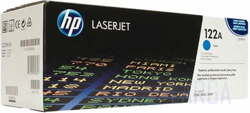 HP 122A - Оригинальный тонер-картридж черный 5000 стр. Q3960A