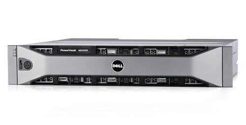 Дисковый массив Dell PV MD3400 x12 2x4Tb 7.2K 3.5 NL SAS 2x600W PNBD 3Y 2xController/12G SAS/2U MD34xx/4Gb Cache (210-ACCG-44)
