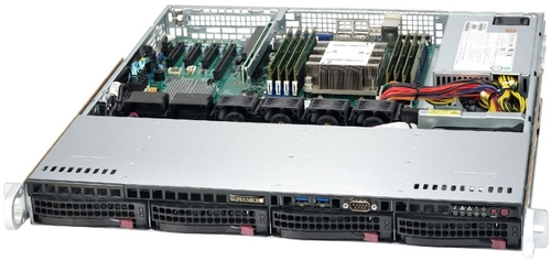 Платформа SuperMicro SYS-5019P-M 1G 2P 1x350W
