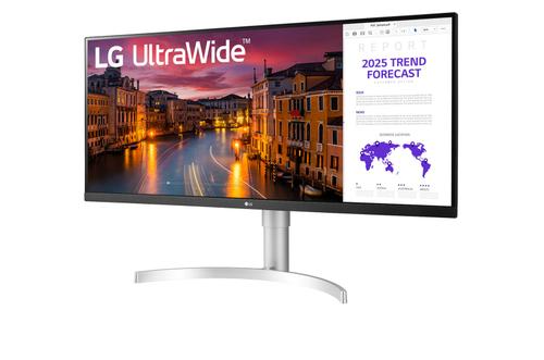 """Монитор LG 34"""" UltraWide 34WN650 черный IPS LED 21:9 HDMI матовая 1000:1 300cd 178гр/178гр 2560x1080 WQHD 6.9кг"""