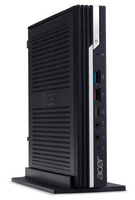 Неттоп Acer Veriton N4660G i3 9100 (3.6)/8Gb/SSD256Gb/UHDG 630/Windows 10 Professional/GbitEth/WiFi/BT/90W/клавиатура/мышь/черный