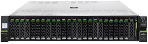 """Сервер Fujitsu PRIMERGY RX2540 M5 8X 2.5 2x4210 2x32Gb 2.5"""" EP520i LP iRMC 4x 1Gb T OCP 2x800W 3Y NBD Rack Mount Kit F1, Rack Cable Arm 2U (VFY:R2545SX100RU)"""