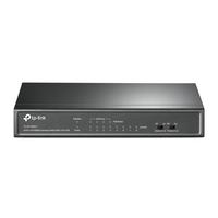 Коммутатор TP-Link TL-SF1008LP 8x100Mb 4PoE 41W управляемый