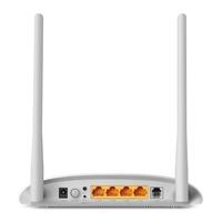 Роутер беспроводной TP-Link TD-W8961N N300 ADSL белый