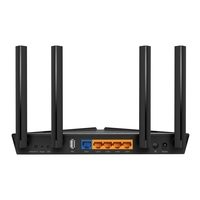 Роутер беспроводной TP-Link Archer AX20 AX1800 10/100/1000BASE-TX черный