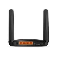 Роутер беспроводной TP-Link TL-MR6400 N300 10/100BASE-TX/4G cat.4 черный