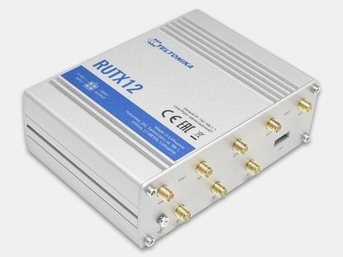 Teltonika RUTX12 -  Промышленный сотовый роутер DUAL LTE CAT 6