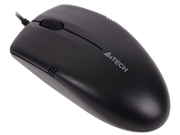 Мышь A4 V-Track Padless OP-530NU черный оптическая (1000dpi) USB (2but)