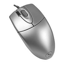 Мышь A4 OP-620D серебристый оптическая (800dpi) USB (3but)