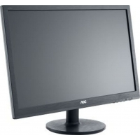 "Монитор AOC 21.5"" Professional E2260swdan(00/01) черный TN+film LED 5ms 16:9 DVI M/M матовая 700:1 200cd 90гр/65гр 1920x1080 D-Sub FHD"