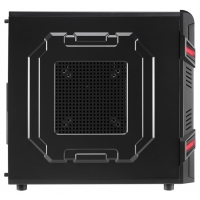 Корпус Aerocool GT Advance черный без БП ATX 2x120mm 1xUSB2.0 1xUSB3.0 audio bott PSU
