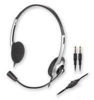Наушники с микрофоном Creative HS-320 серебристый/черный 2м накладные оголовье (51EF0520AA001)