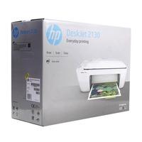 МФУ струйный HP DeskJet 2130 (K7N77C) A4 USB белый