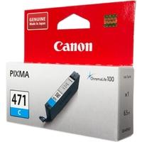 Картридж струйный Canon CLI-471C 0401C001 голубой для Canon Pixma MG5740/MG6840/MG7740