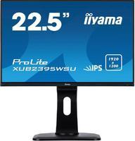 "Монитор Iiyama 22.5"" ProLite XUB2395WSU-B1 черный IPS LED 4ms 16:10 HDMI M/M матовая HAS Pivot 250cd 178гр/178гр 1920x1200 D-Sub DisplayPort FHD USB 5.4кг"