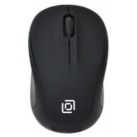 Мышь Oklick 665MW черный оптическая (1000dpi) беспроводная USB (3but)