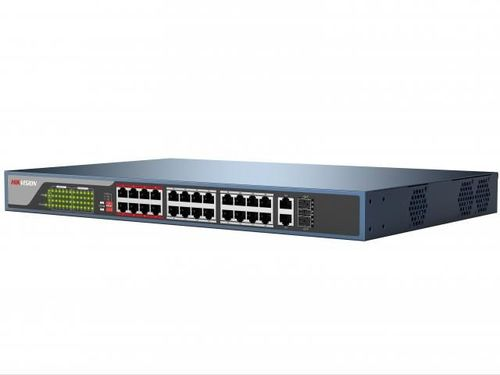 Коммутатор Hikvision DS-3E0326P-E DS-3E0326P-E(B)