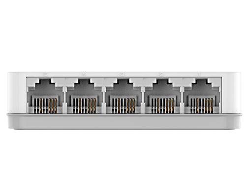 Коммутатор D-Link DES-1005C/A1A 5x100Mb неуправляемый