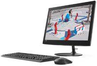 "Моноблок Lenovo IdeaCentre 330-20AST 19.5"" WXGA+ E2 9000 (1.8)/4Gb/1Tb/R2/DVDRW/Free DOS/GbitEth/WiFi/BT/клавиатура/мышь/Cam/черный 1440x900"