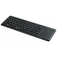 Клавиатура Oklick 830ST черный USB беспроводная slim Multimedia Touch