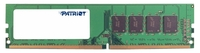 Память DDR4 4Gb 2400MHz Patriot PSD44G240082 RTL PC4-19200 CL17 DIMM 288-pin 1.2В