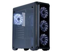 Корпус Zalman i3 edge черный без БП ATX 2x120mm 2xUSB2.0 1xUSB3.0 audio bott PSU
