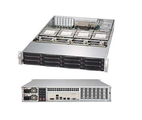 Платформа SuperMicro SSG-6029P-E1CR16T x16 LSI3108 10G 2P 2x1600W