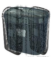 Шредер Office Kit S45-2x9 (секр.P-5)/фрагменты/6лист./16лтр./скрепки/скобы/пл.карты