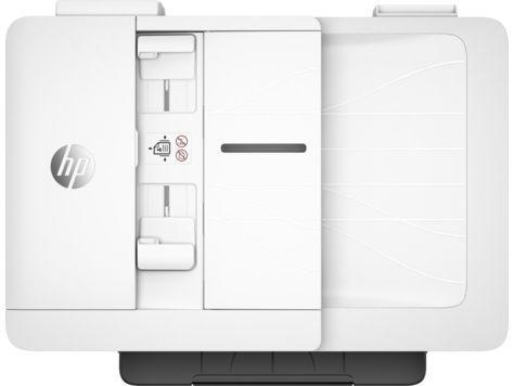 МФУ струйный HP Officejet Pro 7740 WF AiO (G5J38A) A3 Duplex Net WiFi USB RJ-45 белый/черный