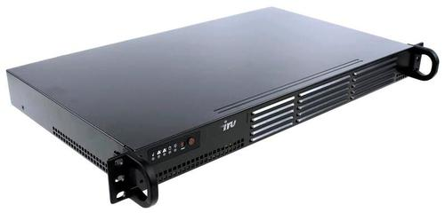 "Сервер IRU Rock S1102E 1xE-2234 1x16Gb 2x240Gb 2.5"" SSD SATA C242 BMC 1x200W 3Y Onsite (1493155)"