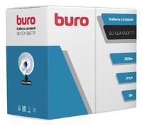 Кабель сетевой Buro FTP 4 пары cat5E solid 0.50мм CCA 305м серый