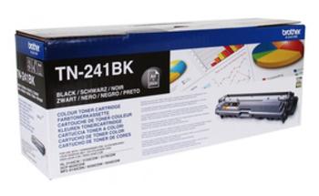 Тонер Картридж Brother TN241BK черный (1400стр.) для Brother HL3140/3150/3170/DCP9020/MFC9140/9330/9340