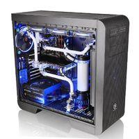 Корпус Thermaltake Core V51 TG черный без БП ATX 2xUSB3.0 audio bott PSU