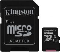 Флеш карта microSDXC 128Gb Class10 Kingston SDCS/128GB + adapter