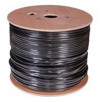Кабель сетевой Buro UTP 4 пары cat5E solid 0.50мм CCA 305м черный outdoor