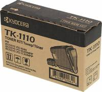Тонер Картридж Kyocera TK-1110 черный для Kyocera FS-1040/1020/1120 (2500стр.)