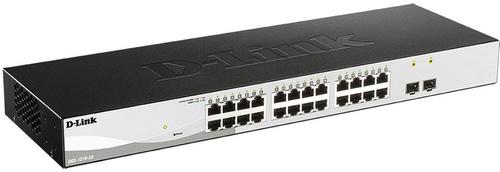 Коммутатор D-Link DGS-1210-26/FL DGS-1210-26/FL1A 24G 2SFP управляемый