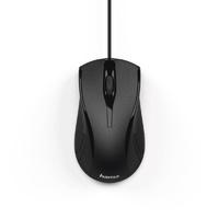 Мышь Hama MC-200 черный оптическая (1200dpi) USB (3but)