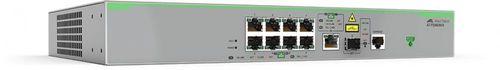 Коммутатор Allied Telesis AT-FS980M/9-50 8x100Mb управляемый