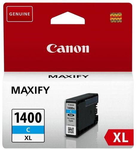 Картридж струйный Canon PGI-1400XLC 9202B001 голубой (1200стр.) для Canon Maxify МВ2040/2340