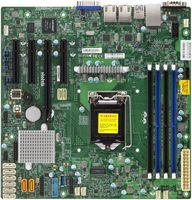 Материнская Плата SuperMicro MBD-X11SSM-F-B Soc-1151 iC236 mATX 4xDDR4 8xSATA3 SATA RAID i210AT 2хGgbEth bulk