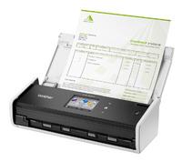 Сканер Brother ADS1600W (ADS1600WR1) A4 белый