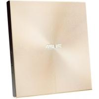 Привод DVD-RW Asus SDRW-08U9M-U золотистый USB slim ultra slim M-Disk Mac внешний RTL