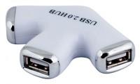 Разветвитель USB 2.0 PC Pet Paw 3порт. белый