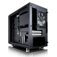 Корпус Fractal Design Define Nano S Window черный без БП miniITX 4x120mm 3x140mm 2xUSB3.0 audio bott PSU