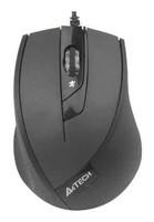 Мышь A4 V-Track Padless N-600X черный оптическая (1600dpi) USB (3but)