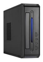 Корпус LinkWorld LC-820-01B LW1-65W черный 65W miniITX 2xUSB2.0 audio CardReader ext